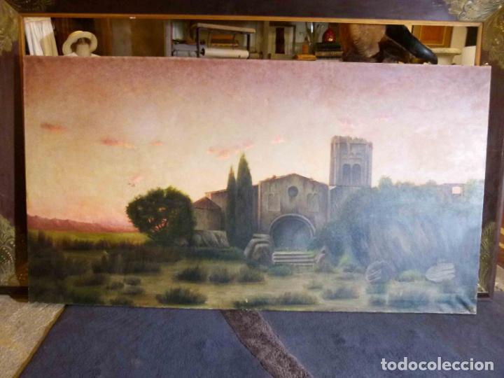 Arte: GRAN OLEO DE MODESTO URGELL COPIA DE SITJAR - Foto 2 - 219148580