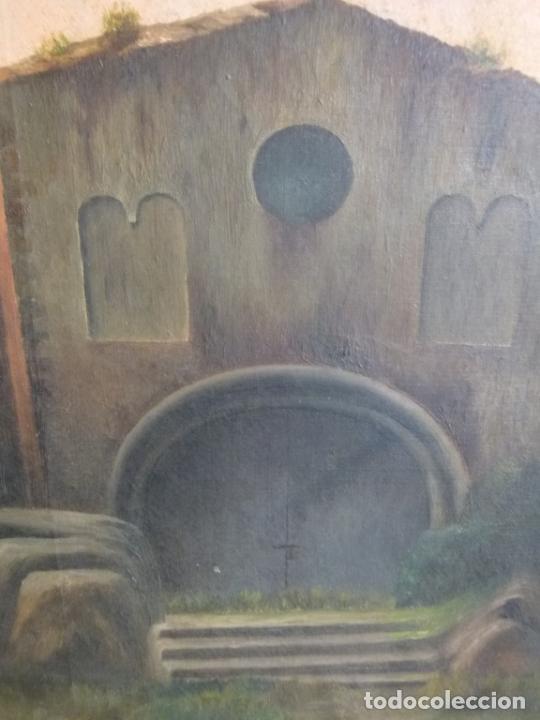 Arte: GRAN OLEO DE MODESTO URGELL COPIA DE SITJAR - Foto 9 - 219148580