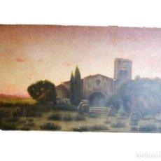 Arte: GRAN OLEO DE MODESTO URGELL COPIA DE SITJAR. Lote 219148580