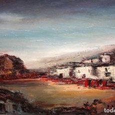 Arte: JUAN ESCODA COROMINAS (MORA DE EBRO, TARRAGONA, 1920 - 2012) OLEO TELA. CAPEA. Lote 219182938