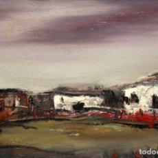 Arte: JUAN ESCODA COROMINAS (MORA DE EBRO, TARRAGONA, 1920 - 2012) OLEO TELA. CAPEA. Lote 219183028