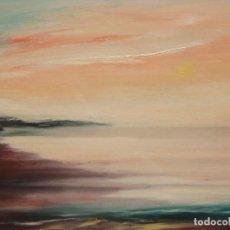 Arte: JUAN ESCODA COROMINAS (MORA DE EBRO, TARRAGONA, 1920 - 2012) OLEO TELA. MARINA. Lote 219183166