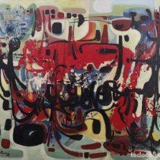 Arte: TOMÁS PEREIRA REVUELTA (CORUÑA 1929-1993). COMPOSICIÓN. ÓLEO SOBRE LIENZO.. Lote 219211910