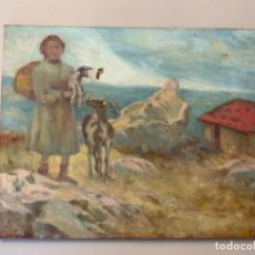 Arte: PINTURA AL ÓLEO PASTORA (PPIOS S.XX). Lote 219214551