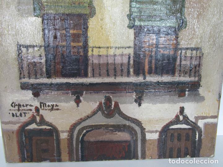 Arte: Joan Clapera Mayà (Olot 1929 - 2018) - Balcons de Cal Ferrer, Olot 1966 - Foto 2 - 219392108