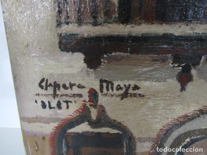 Arte: Joan Clapera Mayà (Olot 1929 - 2018) - Balcons de Cal Ferrer, Olot 1966 - Foto 3 - 219392108