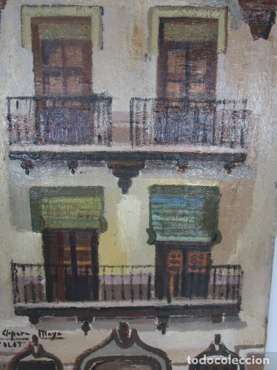 Arte: Joan Clapera Mayà (Olot 1929 - 2018) - Balcons de Cal Ferrer, Olot 1966 - Foto 4 - 219392108