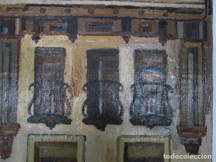 Arte: Joan Clapera Mayà (Olot 1929 - 2018) - Balcons de Cal Ferrer, Olot 1966 - Foto 6 - 219392108