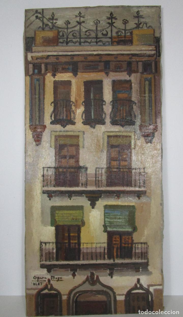 Arte: Joan Clapera Mayà (Olot 1929 - 2018) - Balcons de Cal Ferrer, Olot 1966 - Foto 12 - 219392108