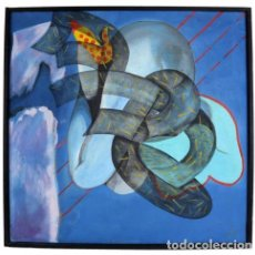 Arte: ÓLEO SOBRE LIENZO DEL PINTOR RAFAEL BARTOLOZZI LOZANO (PAMPLONA , 15.III.1943 – TARRAGONA 2009). Lote 219014627