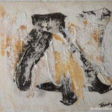 """Arte: """"PAISAJE ABSTRACTO"""". COLECCION ZEN 6. OBRA ORIGINAL DE MARIO TORINO. PINTURA ABSTRACTA EXPRESIONISTA. Lote 219722722"""