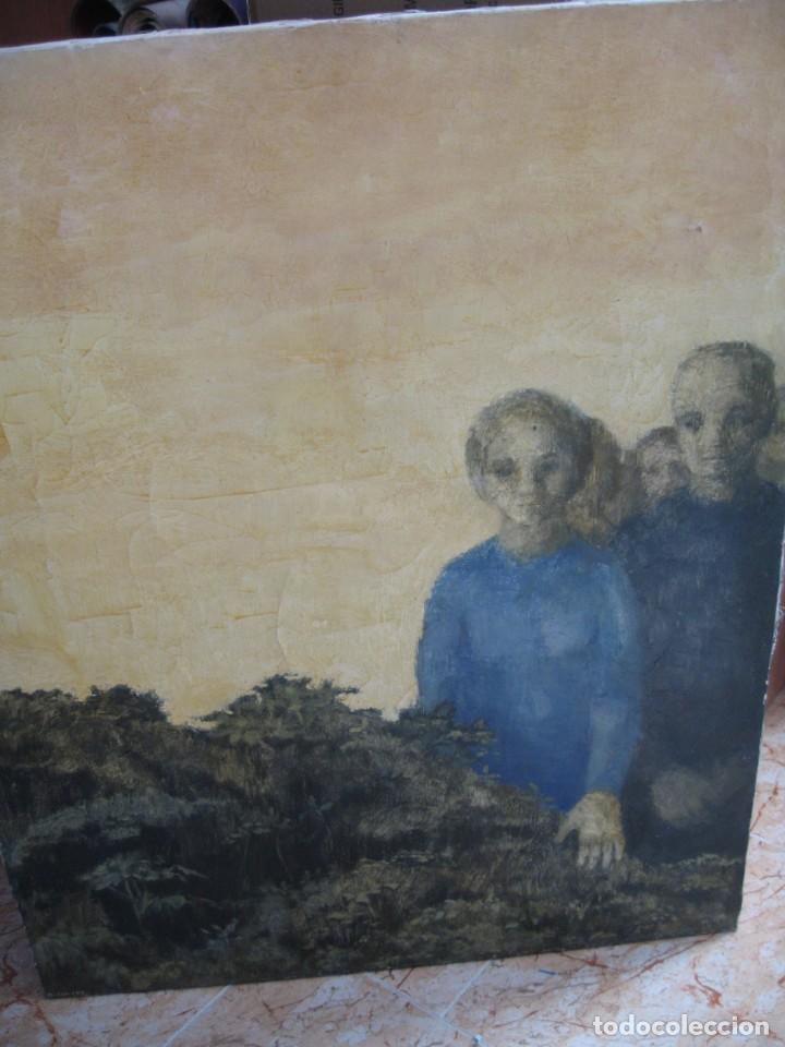 OLEO SOBRE LIENZO MIRANDO DE M.CALVET (Arte - Pintura - Pintura al Óleo Contemporánea )