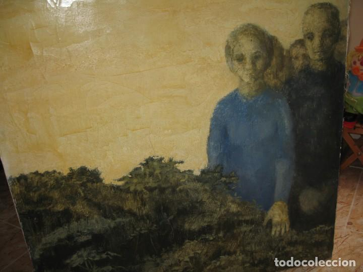 Arte: OLEO SOBRE LIENZO MIRANDO DE M.CALVET - Foto 2 - 219726958