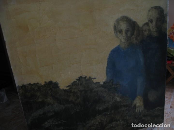 Arte: OLEO SOBRE LIENZO MIRANDO DE M.CALVET - Foto 3 - 219726958