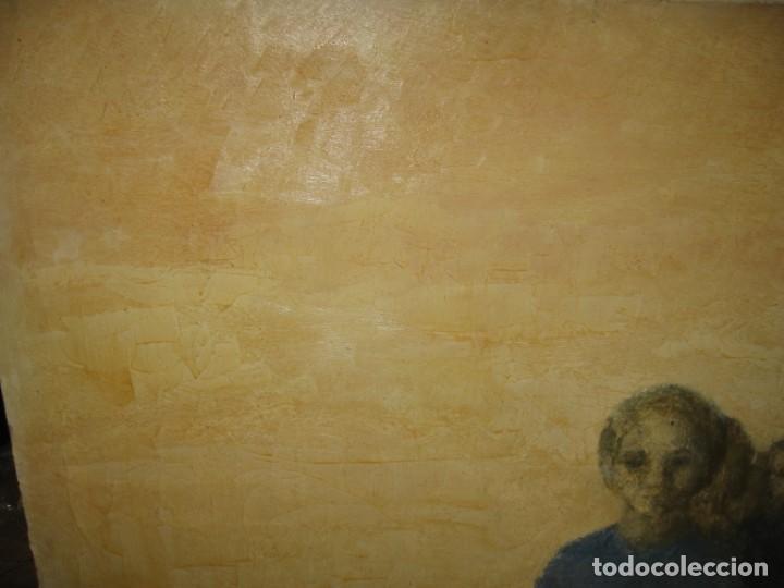 Arte: OLEO SOBRE LIENZO MIRANDO DE M.CALVET - Foto 5 - 219726958