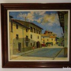 Arte: JOAN CASANOVAS I MOLIST - TARADELL, OSONA - PINTURA AL OLEO. Lote 220456010