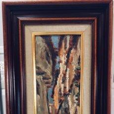 Arte: CONSTANTINO GÓMEZ I SALVADOR.ÓLEO SOBRE TABLA 40X14CM SIN MARCO .1865-1937 VALENCIA. Lote 220595746