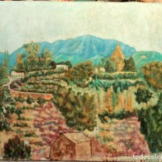 Arte: MANUEL CAPDEVILA MASSANA (1910-2006) ATRIBUIBLE A. PAISAJE. PARAJE SAN PASCUAL 101X81CM OLEO/LIENZO. Lote 176766579