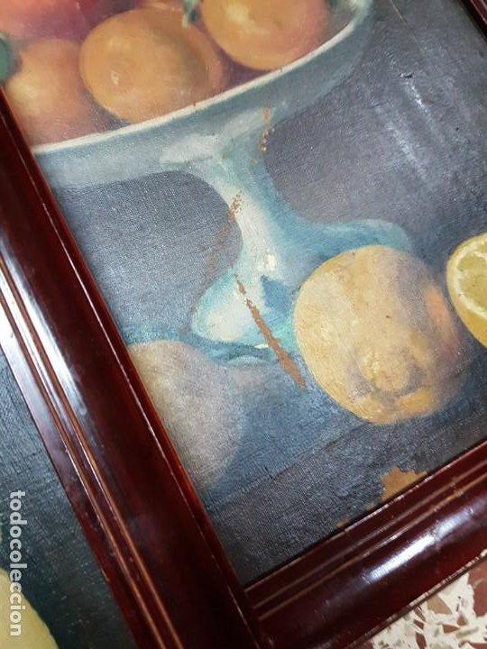 Arte: PRECIOSA PAREJA DE BODEGONES OLEO SOBRE LIENZO APARRILLA FIRMADO AÑOS 1930-1940 ENMARCADOS - Foto 2 - 220611722