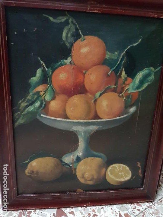 Arte: PRECIOSA PAREJA DE BODEGONES OLEO SOBRE LIENZO APARRILLA FIRMADO AÑOS 1930-1940 ENMARCADOS - Foto 8 - 220611722