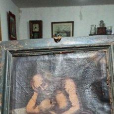 Arte: CUADRO SIGLO XVII-XVIII CON MARCO ORIGINAL. Lote 220615038