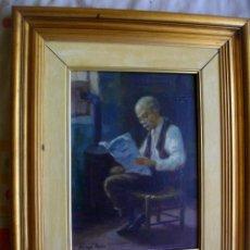 Arte: ALFREDO MOMPO ROCA 1935- 2018 XATIVA ( OLEO SOBRE LIENZO ) 53 X 44 CTMS CON MARCO. Lote 220662282