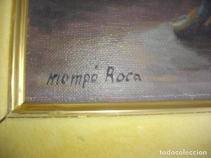 Arte: ALFREDO MOMPO ROCA 1935- 2018 XATIVA ( OLEO SOBRE LIENZO ) 53 X 44 CTMS CON MARCO - Foto 3 - 220662282