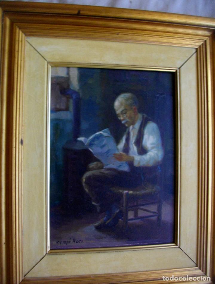 Arte: ALFREDO MOMPO ROCA 1935- 2018 XATIVA ( OLEO SOBRE LIENZO ) 53 X 44 CTMS CON MARCO - Foto 9 - 220662282