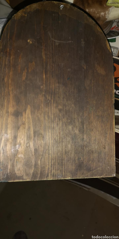 Arte: Antiguo icono pintado al óleo sobre tabla - Foto 4 - 220925017