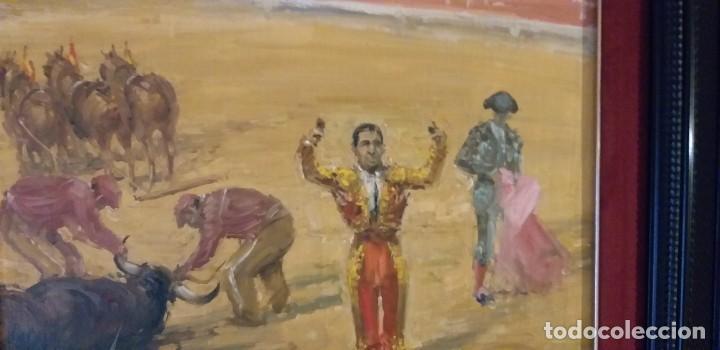 JOSE PUENTE GONZALEZ(ANTONIO BIENVENIDA)55X46 LIENZO (Arte - Pintura - Pintura al Óleo Moderna sin fecha definida)