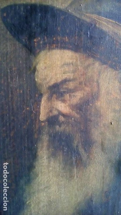 OLEO SOBRE TABLERO - ANTIGUO . (Arte - Pintura - Pintura al Óleo Antigua sin fecha definida)