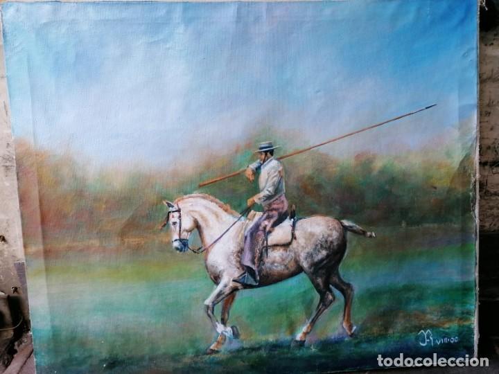 OLEO CABALLO FIRMADO (Arte - Pintura Directa del Autor)