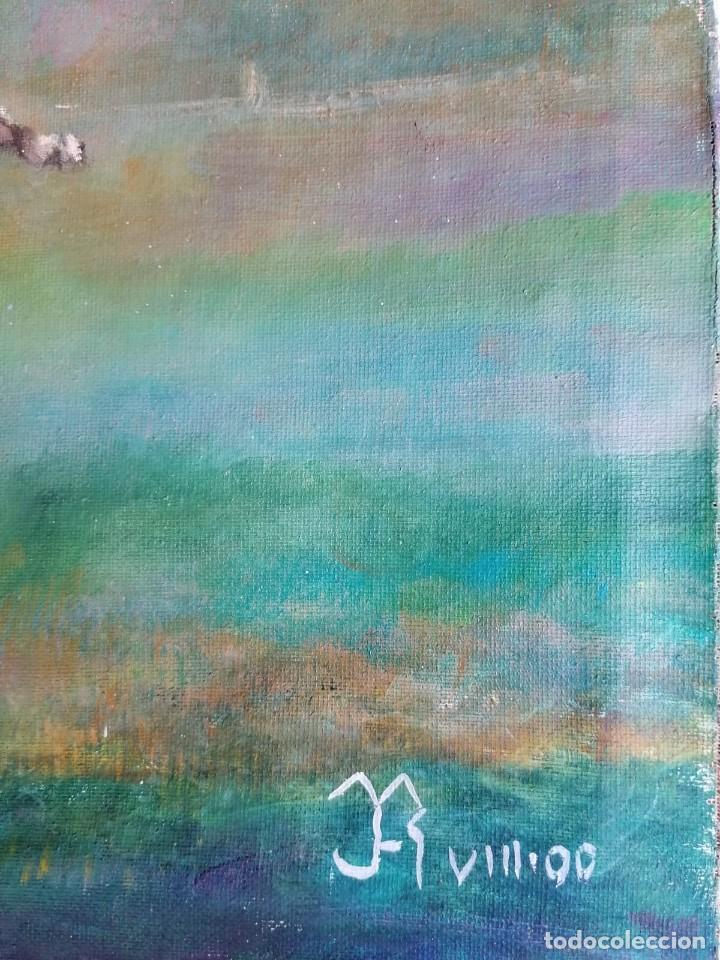Arte: oleo caballo firmado - Foto 2 - 221093507
