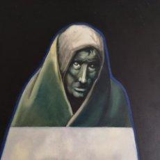 Arte: GANCEDO. FRANCISCO LÓPEZ PACHO. (LEÓN, 1929 - A CORUÑA, 2013). NADA. ACRÍLICO SOBRE TABLA.. Lote 221124712