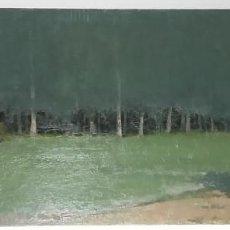 Arte: PAISAJE ANTONIO CERRATO BADAJOZ 1955 EXTREMADURA 100X40 OLEO LIENZO. Lote 221237766