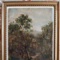 Arte: ÓLEO DE F.MUIR PAISAJE ( 1873 ) ESCUELA INGLESA .. Lote 221340141