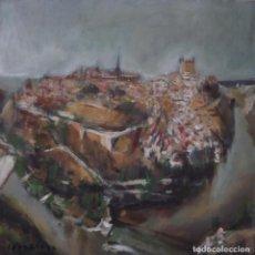 Arte: OBRA ORIGINAL DE GONZHO: ''IMPRESIÓN TOLEDO''. Lote 221368303
