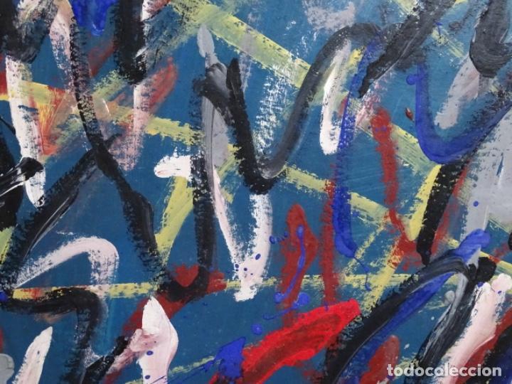 Arte: Gran óleo de Antoni Xaus (barcelona 1932-2013) - Foto 3 - 221415670