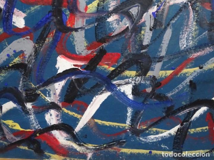 Arte: Gran óleo de Antoni Xaus (barcelona 1932-2013) - Foto 4 - 221415670
