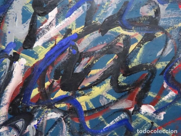Arte: Gran óleo de Antoni Xaus (barcelona 1932-2013) - Foto 5 - 221415670