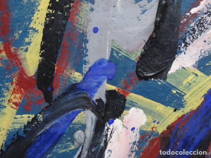 Arte: Gran óleo de Antoni Xaus (barcelona 1932-2013) - Foto 7 - 221415670