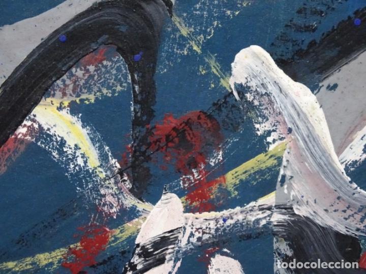 Arte: Gran óleo de Antoni Xaus (barcelona 1932-2013) - Foto 8 - 221415670