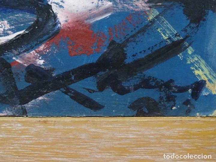 Arte: Gran óleo de Antoni Xaus (barcelona 1932-2013) - Foto 9 - 221415670