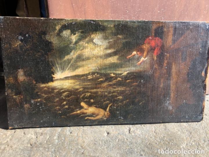 ÓLEO ANTIGUO S,XVII (Arte - Pintura - Pintura al Óleo Antigua siglo XVII)