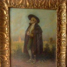 Art: ANTIGUO RETRATO ORIGINAL , OLEO SOBRE LIENZO , RETRATO VALENCIANO AÑO 1900. Lote 221497927