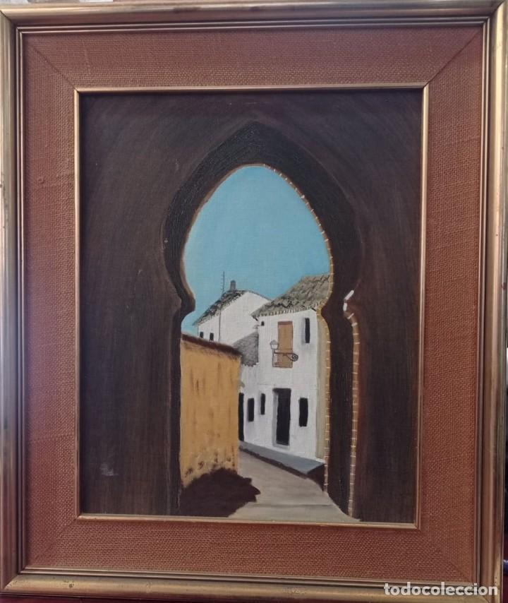 OLEO SOBRE TABLA CON MARCO (Arte - Pintura - Pintura al Óleo Contemporánea )