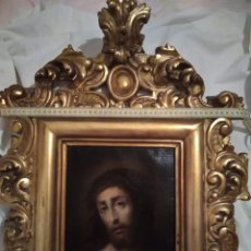 "Arte: ""ECCE HOMO"". ÓLEO SOBRE LIENZO. S.XVI. ESCUELA VALENCIANA.. Lote 221076875"