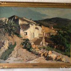 Arte: VILÁ CAÑELLAS, JOSÉ MARIA (1914-2001). ÓLEO SOBRE LIENZO. PAISAJE RURAL GRAN FORMATO. Lote 221585560