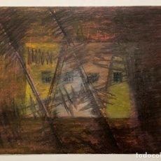 Arte: DIBUJO ORIGINAL , REALIZADO A CERAS , FIRMADO LLORENTE 87. Lote 221586795