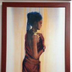 Arte: DIBUJO FEMENINO FIRMA BELMONTE. Lote 221627000